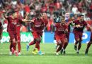 Il Liverpool ha vinto ai rigori la Supercoppa UEFA