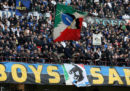 La curva dell'Inter ha difeso i cori razzisti contro Romelu Lukaku