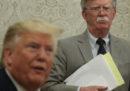 Trump ha licenziato John Bolton, il suo terzo consigliere per la sicurezza nazionale