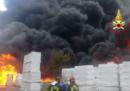 C'è stata un'esplosione in una fabbrica di batterie per automobili di Avellino
