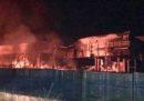 C'è stato un incendio in un'importante azienda agricola di Apricena (Foggia)