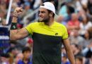 Il tennista Matteo Berrettini si è qualificato ai quarti di finale degli US Open