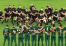 Coppa del Mondo di rugby, gli highlights delle partite di sabato
