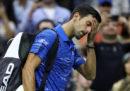 Novak Djokovic si è ritirato dagli US Open