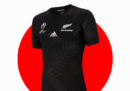 Tutte le maglie della Coppa del Mondo di rugby