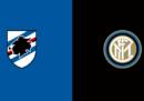 Sampdoria-Inter in TV e in streaming