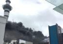 Il grosso incendio iniziato ieri nel centro di Auckland, in Nuova Zelanda, non è ancora stato spento