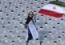 Le donne iraniane allo stadio