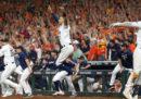 Gli Houston Astros giocheranno le World Series contro i Washington Nationals
