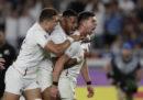 L'Inghilterra ha eliminato gli All Blacks dalla Coppa del Mondo di rugby
