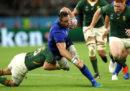 L'Italia di rugby è stata battuta 49-3 dal Sudafrica nei gironi della Coppa del Mondo
