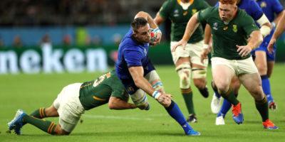 Braam Steyn contro il Sudafrica