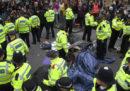 Più di 100 persone sono state arrestate a Londra nel primo giorno delle nuove proteste ambientaliste del movimento Extinction Rebellion