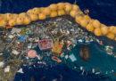 Il primo successo della barriera per ripulire il Pacifico