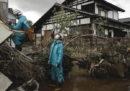 Dopo il tifone Hagibis