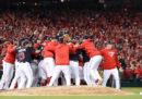 I Washington Nationals giocheranno le World Series della Major League