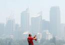 Le foto di Sydney tra il fumo