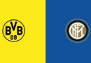 Dove vedere Borussia Dortmund-Inter in TV e in streaming
