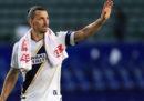 Zlatan Ibrahimovic lascia i Los Angeles Galaxy e la MLS