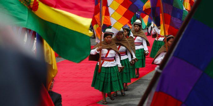 La Bolivia ha due bandiere ufficiali