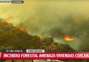 Almeno 120 case sono state distrutte in un incendio forse doloso a Valparaíso, in Cile