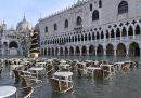 Le foto dell'acqua alta a Venezia, di nuovo