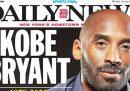 Le prime pagine internazionali sulla morte di Kobe Bryant