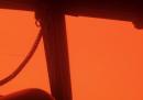 È dura guidare un aereo sopra gli incendi in Australia