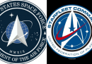 Il simbolo dell'Astronautica degli Stati Uniti, copiato da Star Trek