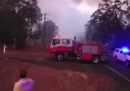 La velocità con cui si propagano gli incendi in Australia, in un video