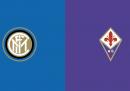 Inter-Fiorentina di Coppa Italia in TV e in streaming