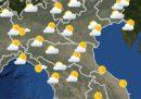 Le previsioni meteo per lunedì 13 gennaio