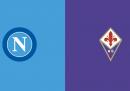 Napoli-Fiorentina in TV e in streaming