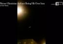 Sembra che l'aereo caduto in Iran sia stato abbattuto