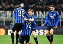 L'Atalanta ha battuto 4-1 il Valencia nell'andata degli ottavi di Champions League