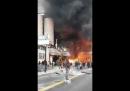 C'è un grosso incendio nei pressi della Gare de Lyon, a Parigi