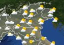 Le previsioni meteo per domenica 16 febbraio