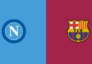 Napoli-Barcellona in diretta TV e in streaming