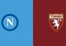 Napoli-Torino in TV e in streaming