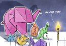 La crisi di governo spiegata con gli origami