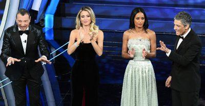 Sanremo 2020, i dati Auditel sugli ascolti della prima serata