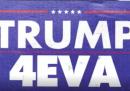 Trump vuole restare presidente «all'infinito»?