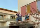 """Un quartiere di Bamberga ha cantato """"Bella ciao"""" come segno di vicinanza all'Italia"""