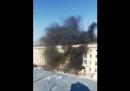 C'è stato un incendio nel castello di Berlino: una persona è stata ferita