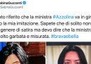 Da qualche giorno tutti vedono Sabina Guzzanti, anche Sabina Guzzanti