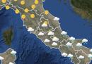 Meteo: le previsioni per giovedì 23 aprile