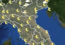 Meteo: le previsioni per martedì 7 aprile