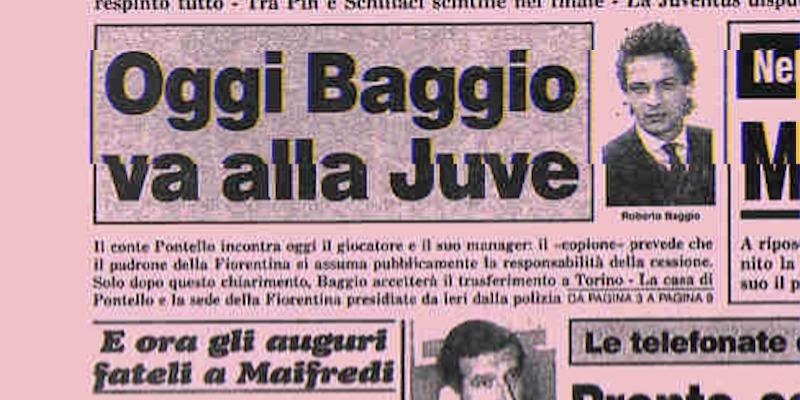Gli scontri a Firenze per la cessione di Roberto Baggio alla Juventus - Il  Post
