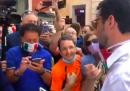 I video della protesta non distanziata del centrodestra a Roma