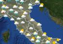 Le previsioni meteo per mercoledì 3 giugno